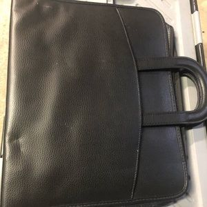 Zip Up Binder Briefcase